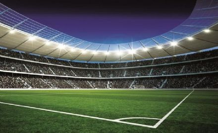 Football Stadium wall mural paper wallpaper